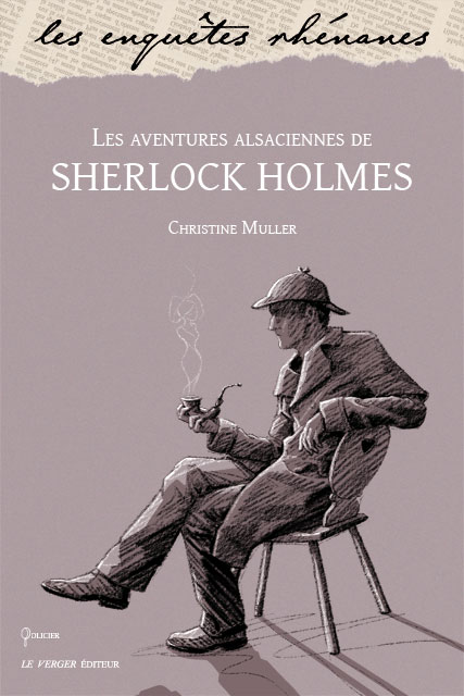 Illustration vlou auteur et illustratrice - Dessin de sherlock holmes ...