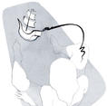 …et d'encre fraîche, textes et illustrations de Vlou, éditions Drozophile, planche 21